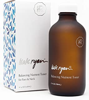 Balancing Nutrient Toner (4 ounces) - Refreshing and Energizing for Your Skin - All Natural, Alcohol-Free Toner with Anti-...