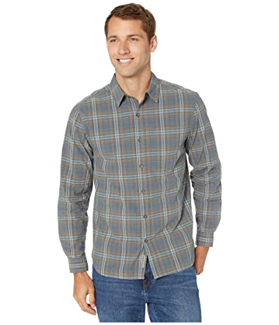 Royal Robbins Trouvaille Plaid Long Sleeve (Slate) Men