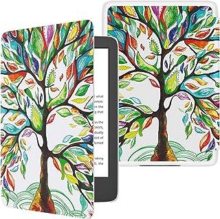 TiMOVO Amazon Kindle 第十世代 Newモデル ケース キンドル2019年発売専用カバー 高級PUレーザー オートスリープ機能 全面保護 耐衝撃 軽量 薄型 Lucky Tree (Kindle Paperwhite/Kindle 8に対応できません)