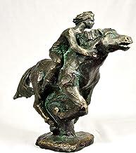 Scultura clàssica di bronzo sintetico, figura caballo, di Alex Marsach