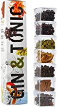 Te Tonic Gin And Tonic Infusions Kit, 7 Gin Botanicals Kit To Garnish Your Cocktail - Ideal Gift For Gin Lovers