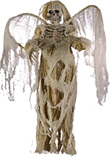 Scary Hanging Angel Of Death Skeleton Party Decoration Halloween Prop