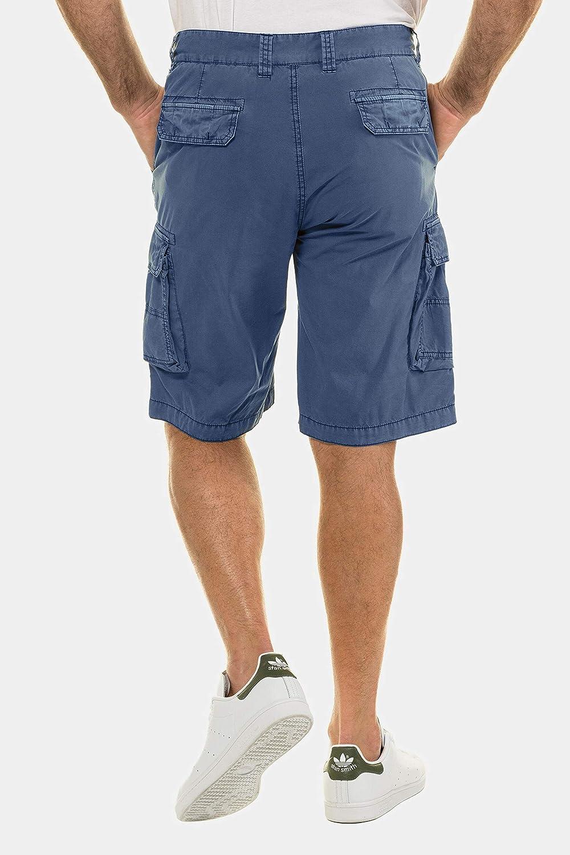 JP 1880 Bermuda Cargo Shorts Homme Bleu Denim