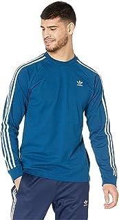 [adidas(アディダス)] メンズタンクトップ?Tシャツ 3-Stripes Long Sleeve Tee [並行輸入品]