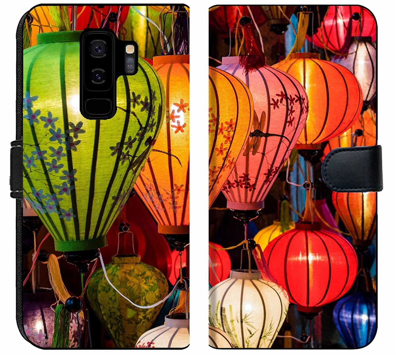 Samsung Galaxy S9 Plus Fabric Wallet Case Image ID: 31089698 Traditional Lamps in Old Town Hoi an Central Vietnam