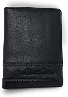 Men's Rumford RFID ID Protection Card Case Wallet Black
