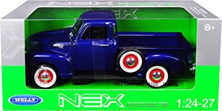 1953 Chevrolet 3100 Pickup Truck Blue 1/24-1/27 Diecast Model Car by Welly 22087