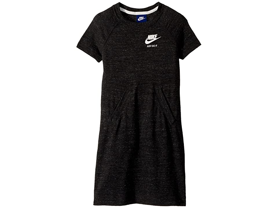 Nike Kids Sportswear Vintage Dress (Little Kids/Big Kids) (Black/Sail) Girl