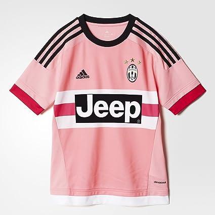 Adidas Juventus Away Youth Jersey-PINK (XL) : Amazon.in: Clothing ...