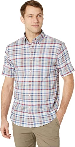 Short Sleeve Seaside Button Down Shirt