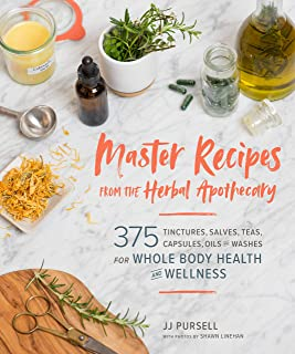 Master Recipes from the Herbal Apothecary: 375 Tinctures, Salves, Teas, Capsules, Oils, and Washes for Whole-Body Health a...