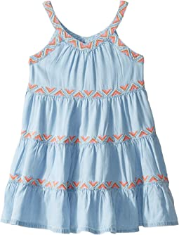 Chambray Sarafina Dress (Toddler/Little Kids/Big Kids)