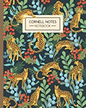 Cornell Notes Notebook: Leopards in the Jungle - Journal Note Taking System - Gift Idea for School Students College University (8