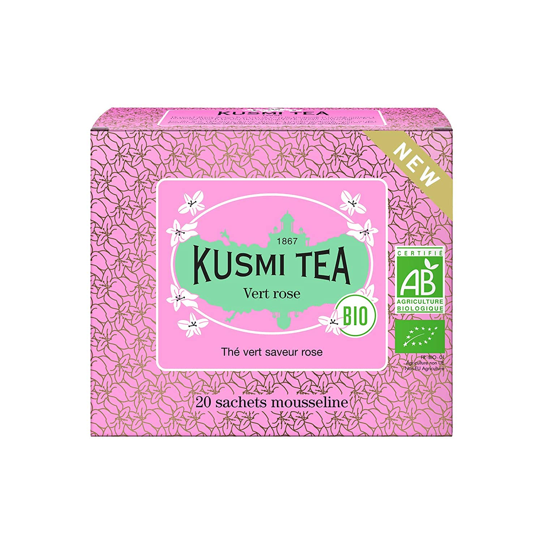 2021 new Kusmi Tea - Rose Green Organic Ble Store Flavored