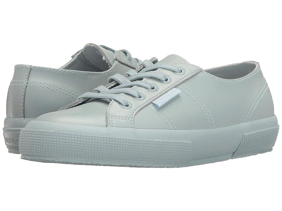 Superga 2750 FGLU Sneaker (Total Light Blue Leather) Women