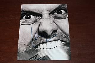 Metallica Signed Lars Ulrich Concert 8x10