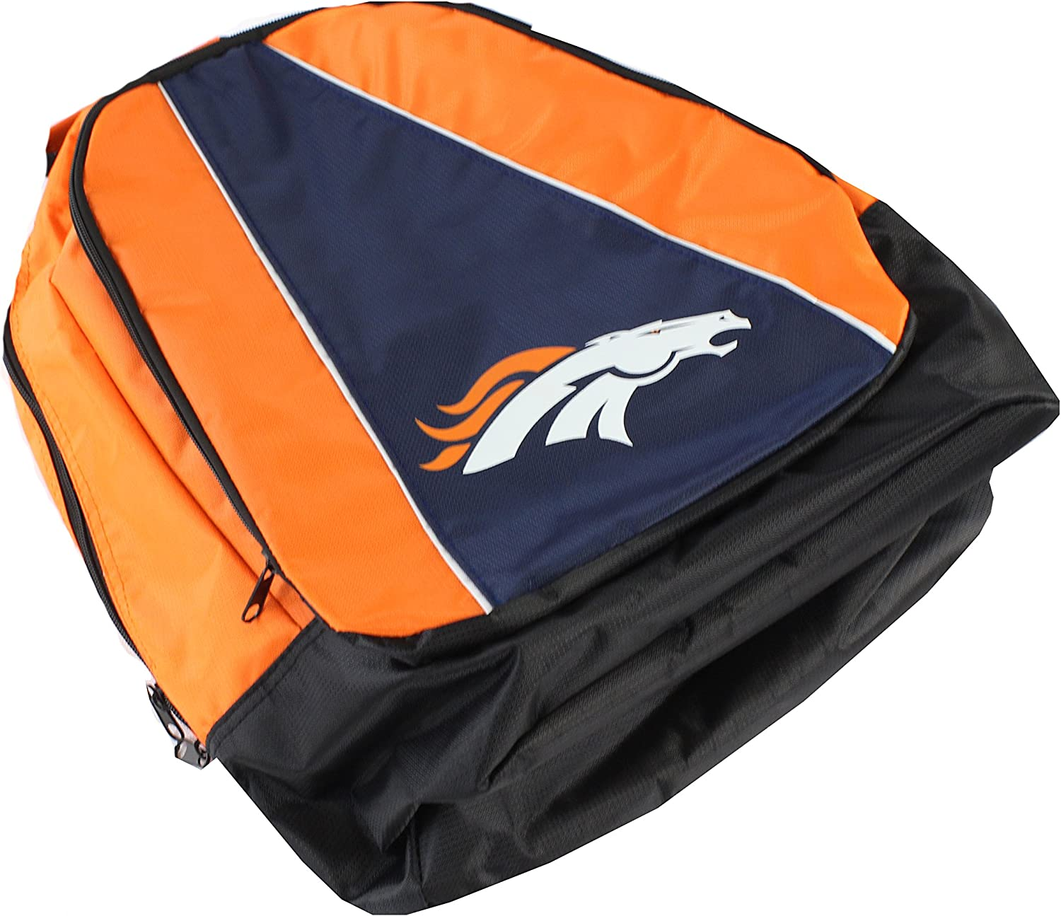 High material FOCO NFL Max 48% OFF Denver Broncos Structured Core Backpack