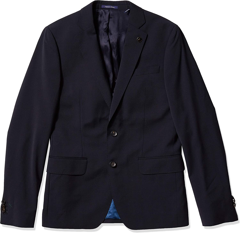 Scotch & Soda Men's Classic Blazer Suit in Stretch Wool/Polyester Quality