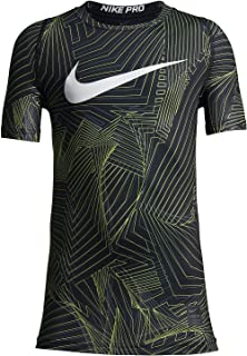 Best nike boys' pro fitted hbr short sleeve shirt Reviews
