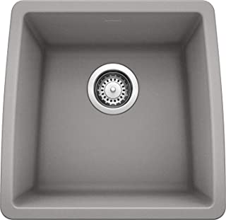 Blanco 440082 Performa Bar Bowl-Metallic Gray Sink