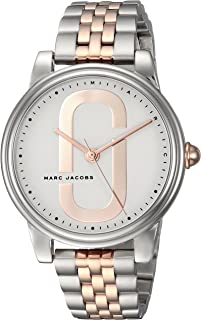 Marc Jacobs Corie Women's Rose Gold Dial Stainless Steel Band Watch - MJ3561