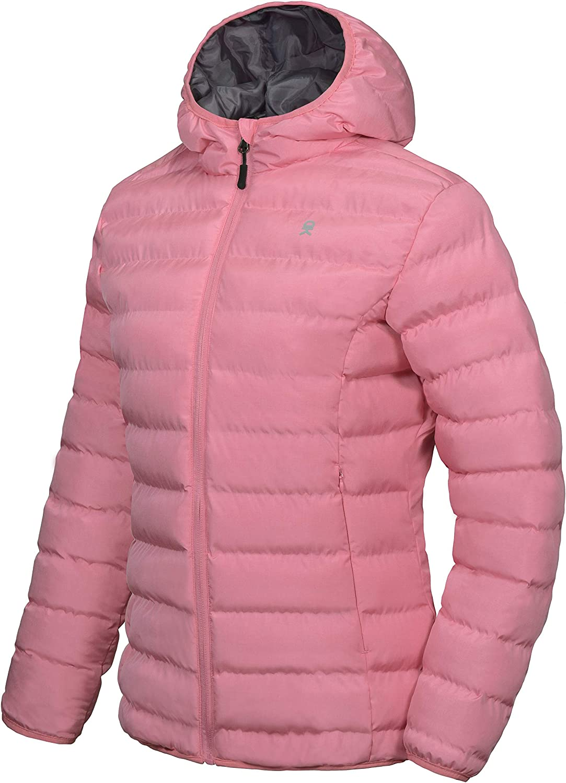 Little Donkey Andy New Orleans Mall Women's Warm Los Angeles Mall Puffer Hooded Waterproof Jacket