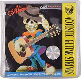 Alice Bronze Acoustic Guitar Strings GS-01_Phosphor Bronze_(Pack of 1)