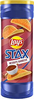 Lay's Stax Barbeque Potato Chips, 155.9g