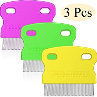 Boao 3 Pieces Tear Stain Remover Combs Set