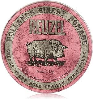 Reuzel Medium Sheen Pink Pomade, 4 oz