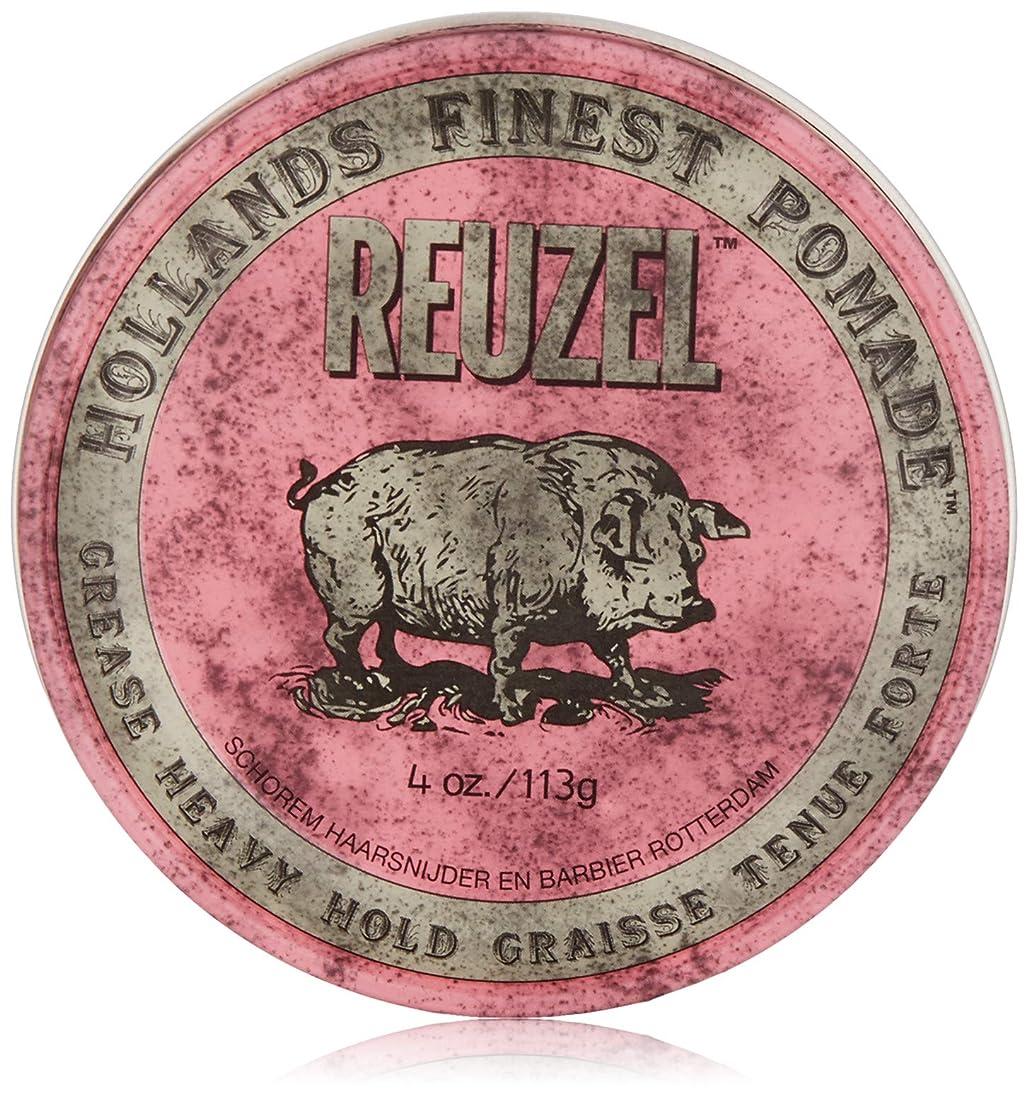 カウントイサカ不完全なReuzel Pink Grease Heavy Hold Pomade 4 oz/113g