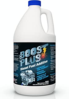 Boost Plus | Best Diesel Engine Fuel Additive | Cleans Engine Increases Fuel Economy (1 Gallon)