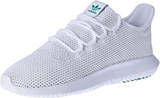 adidas Tubular Shadow Men's Sneakers, Footwear White/Active Green/Solar Gold, 6.5 US