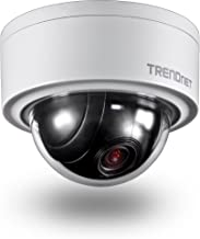TRENDnet Indoor/Outdoor 3MP Motorized PTZ Dome Network Camera, 4x Optical Zoom, 16x Digital Zoom, Autofocus, IP66 Housing, Free iOS and Android mobile apps, ONVIF Profile S, TV-IP420P