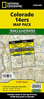 Colorado 14ers [map Pack Bundle]: Trails Illustrated Maps