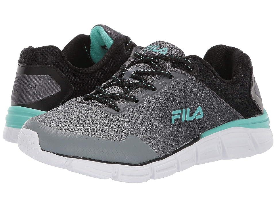 Fila Memory Countdown 5 Running (Castlerock/Black/Aruba Blue) Women