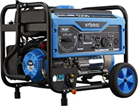 Pulsar 5,250W Dual Fuel Portable Generator with Switch and Go Technology, PG5250B