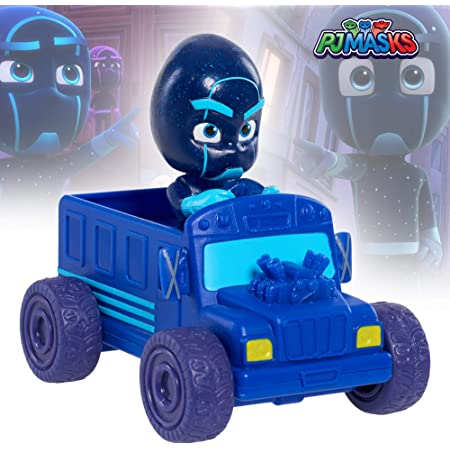 PJ Masks Mini Vehicle - Night Ninja Car Toy Set for Kids, Age 3 Years and Above