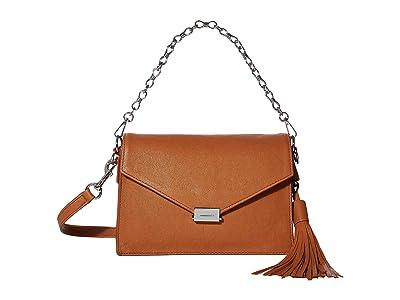 AllSaints Miki Crossbody (Tan) Handbags