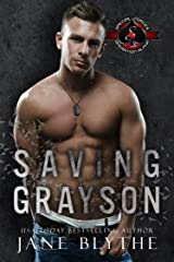 Saving Grayson (Special Forces: Operation Alpha) (Saving SEALs Book 5) Kindle Edition