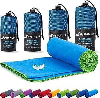 comprar comparacion Fit-Flip Toalla Microfibra – en Todos los tamaños / 18 Colores – Ultraligera y compacta – Toalla Secado rapido – Toalla Pl...