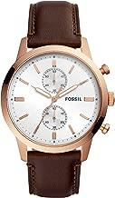 Fossil 44mm Townsman Analog White Dial Men's Watch - FS5468