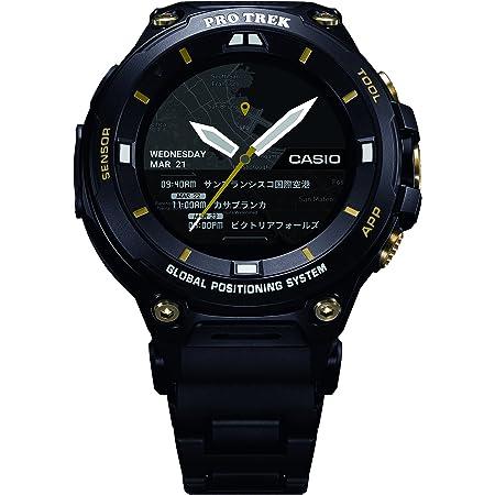 [カシオ] 腕時計 スマートアウトドアウォッチ プロトレックスマート WSD-F20SC-BK メンズ ブラック