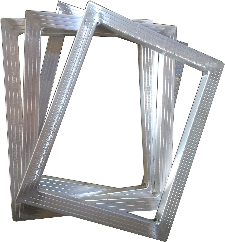 Spring new work Time sale INTSUPERMAI 4-Pack Silk Screen Printing Frame Alu Mesh No