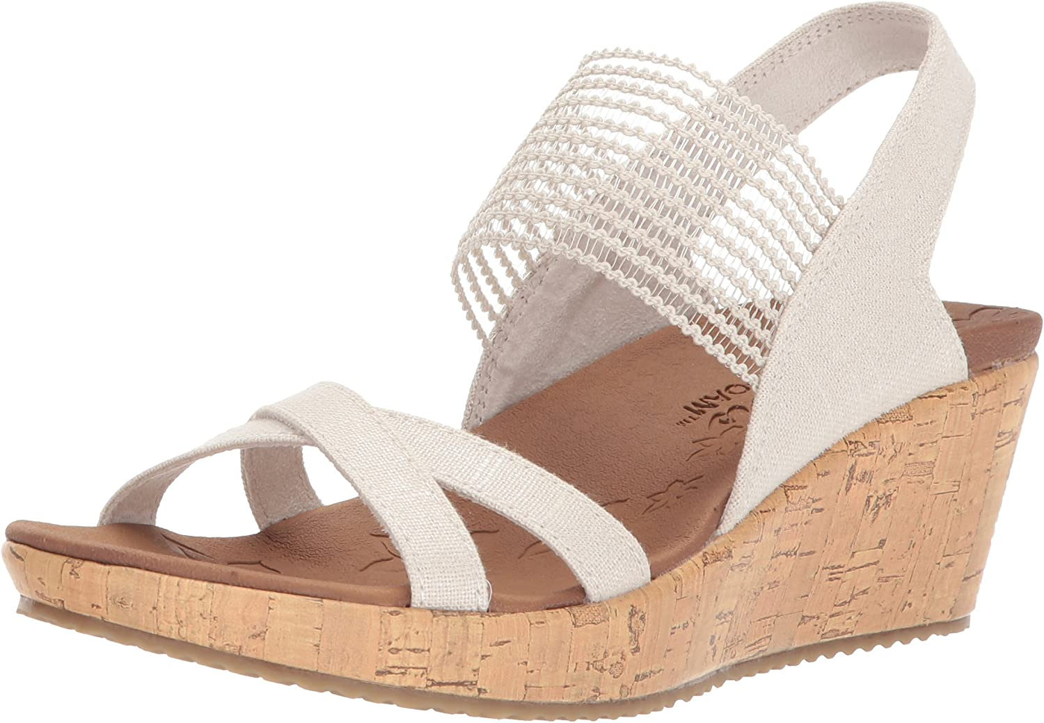 Skechers Womens Beverlee - High Tea Wedges