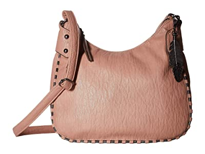 Jessica Simpson Selena Top Zip Crossbody (Moss Rose) Cross Body Handbags