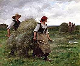 Julien Dupre The Hay Harvest Private Collection 30