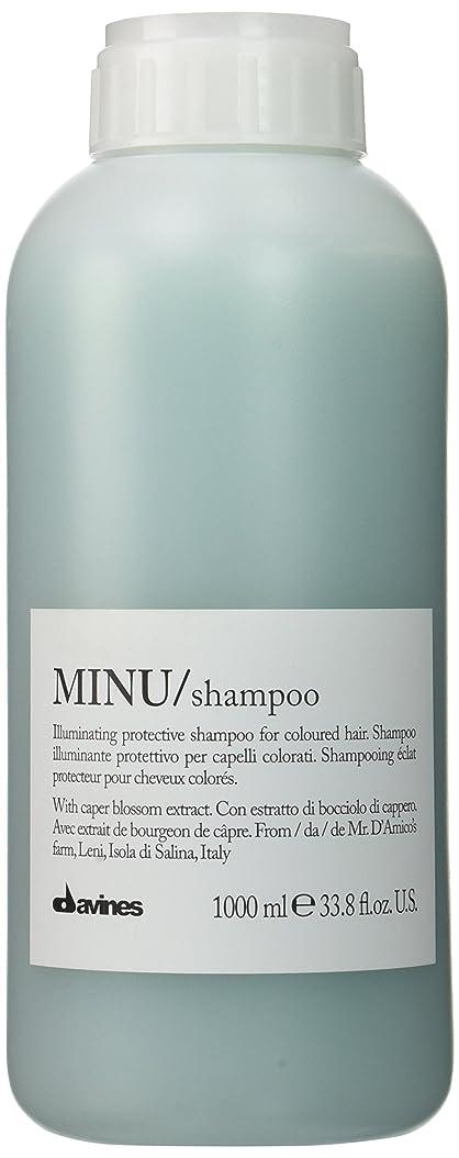 廃棄する叫び声本部ダヴィネス Minu Shampoo Illuminating Protective Shampoo (For Coloured Hair) 1000ml/33.8oz並行輸入品