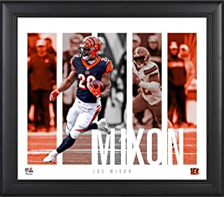 """Joe Mixon Cincinnati Bengals Framed 15"""" x 17"""" Player Panel Collage - NFL Player Plaques and Collages"""