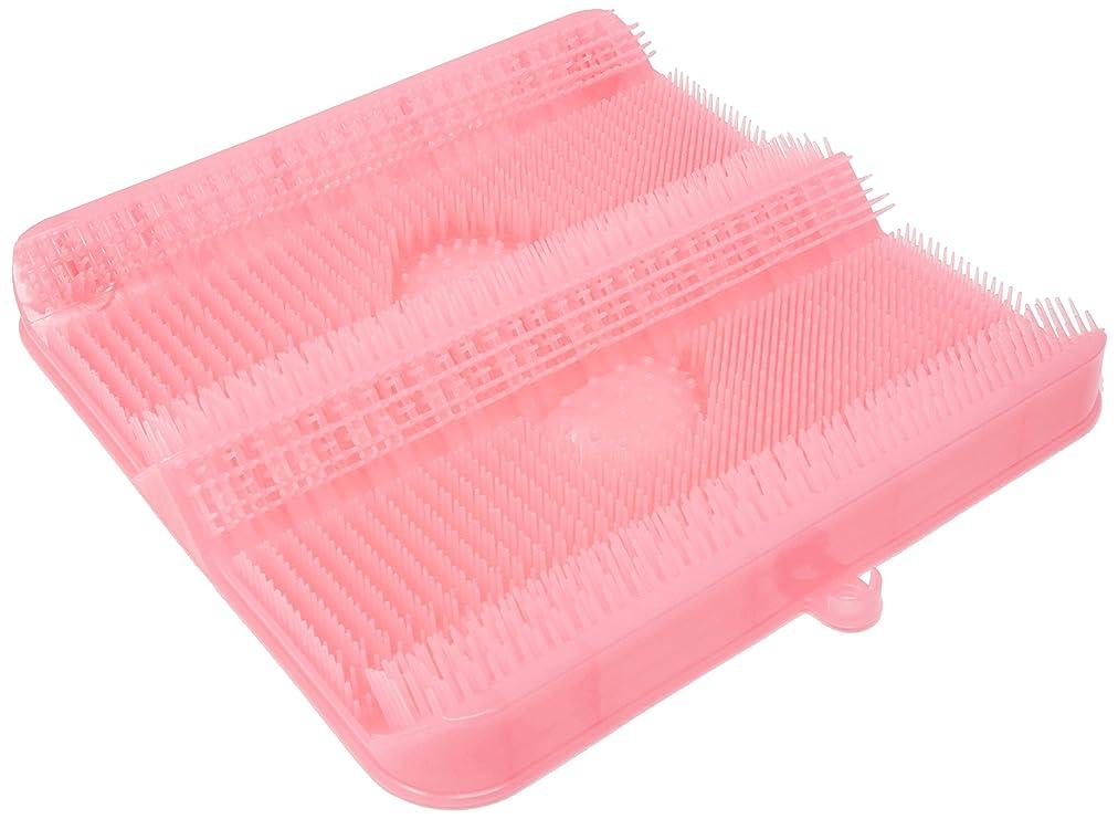 ショット無駄な疑いごしごし洗える!足洗いマット お風呂でスッキリ 足裏洗ったことありますか? HB-2814?ピンク